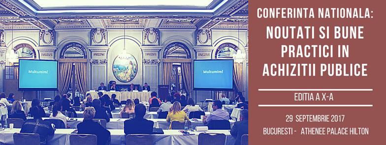 Conferinta Achizitii Publice - Noutati si bune practici 2017 - asocierile pentru participarea la licitație
