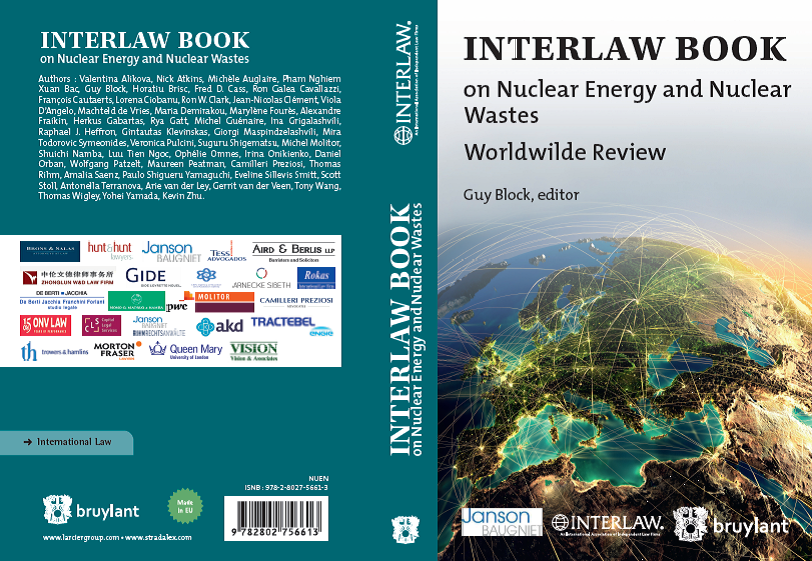 Interlaw Book Nuclear Energy Nuclear Waste 2018_Cover
